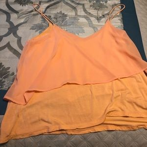 Light orange top